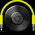 Googleの新デバイスで有線のスピーカーがワイヤレススピーカーに早変わり!!光デジタル/アナログ音声出力を備えたハイレゾ対応のオーディオ端末「Chromecast Audio」