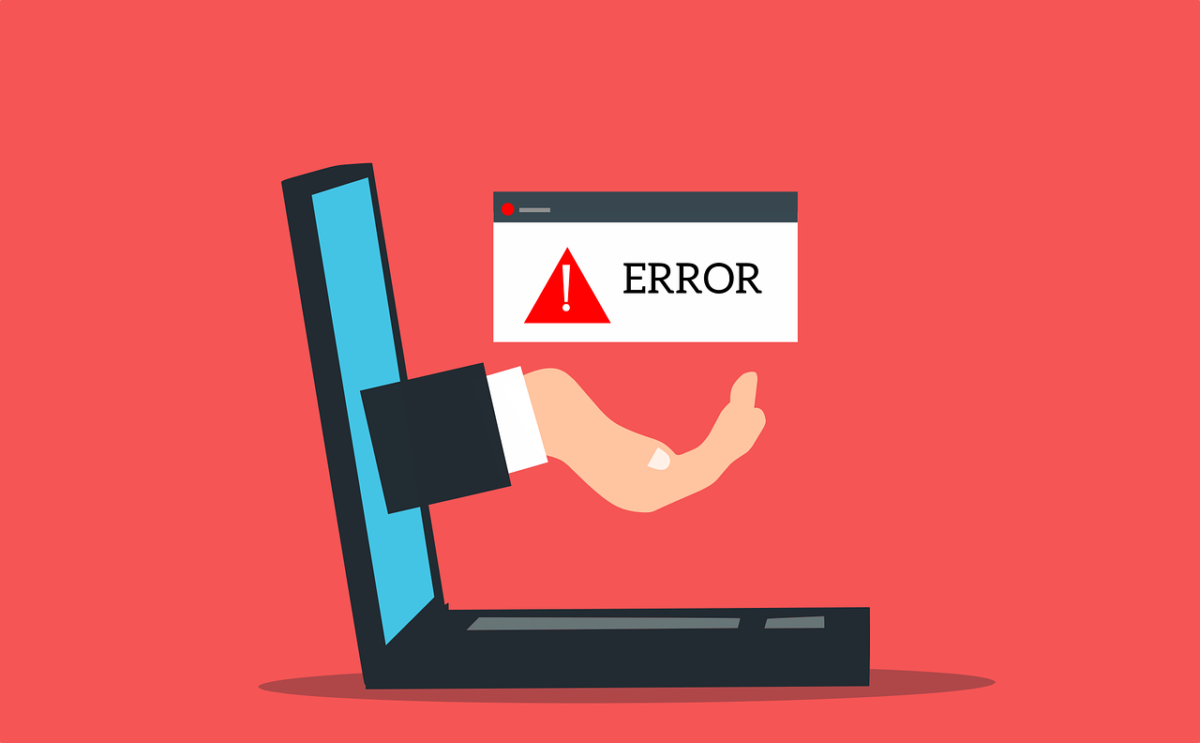 Laptop Error Web Warning Text  - mohamed_hassan / Pixabay