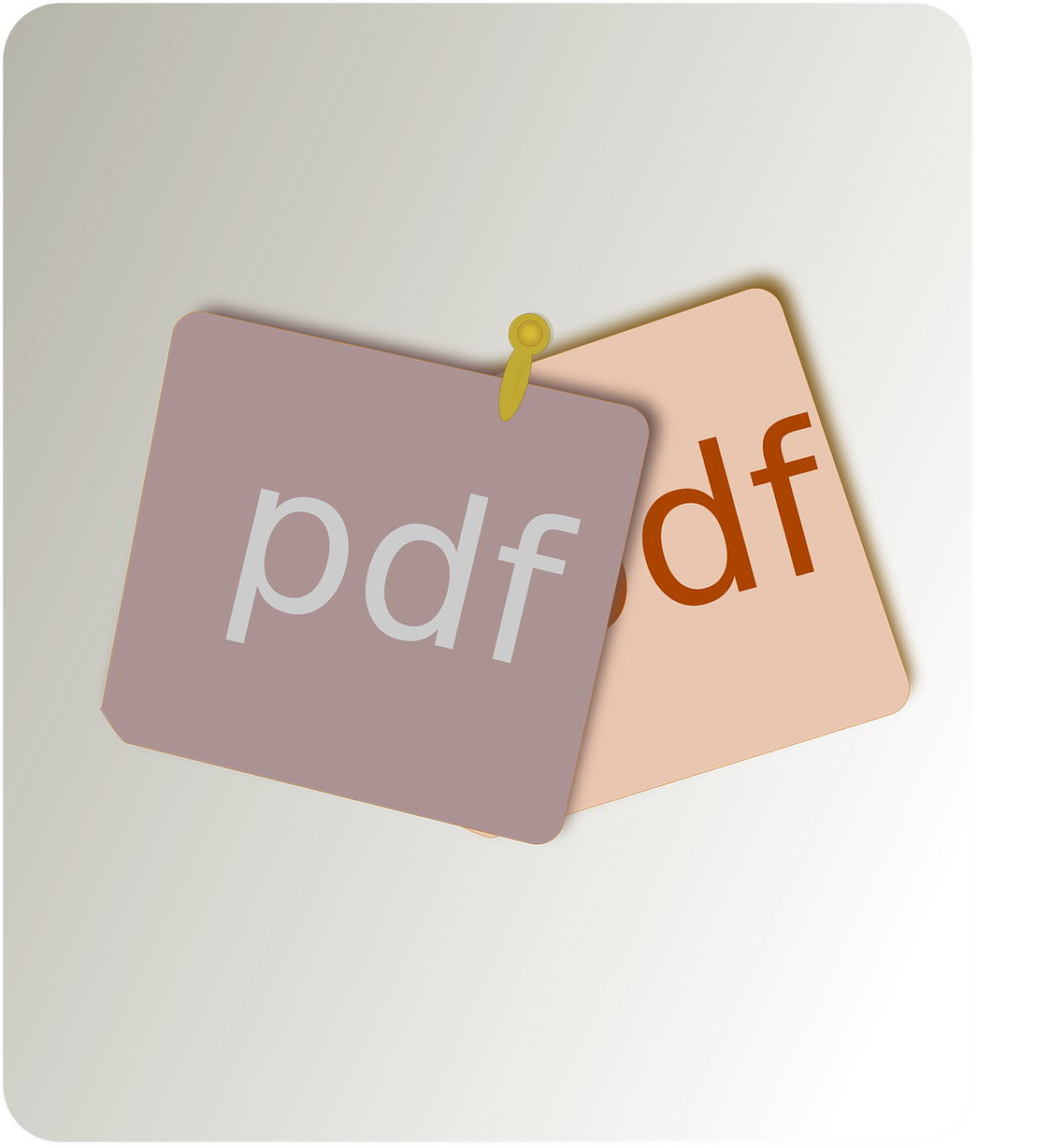 Pdf File Type Document File  - OpenClipart-Vectors / Pixabay